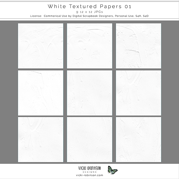 Textured White Papers 01