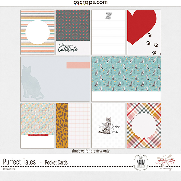 Purfect Tales   Pocket Cards