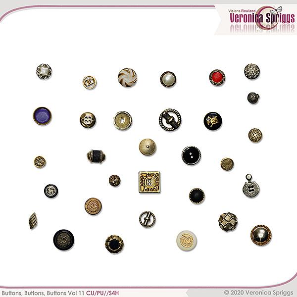Buttons Buttons Buttons Vol 11