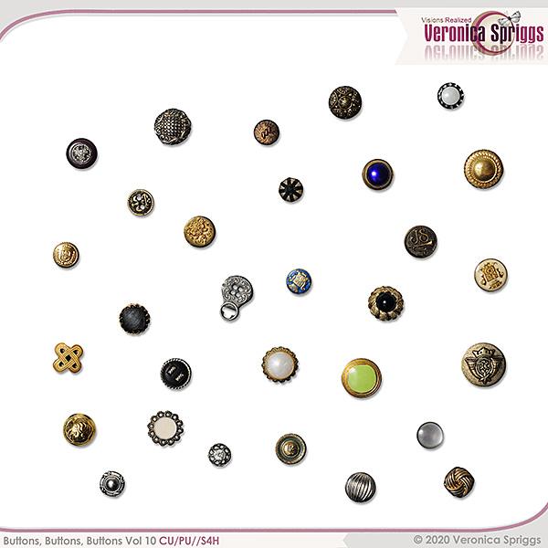 Buttons Buttons Buttons Vol 10