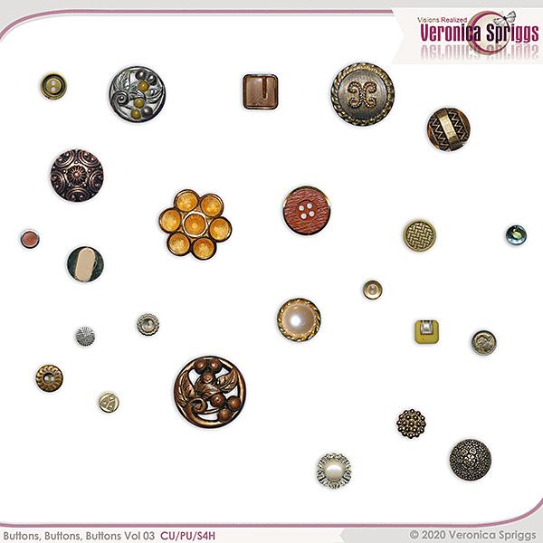 Buttons Buttons Buttons Vol 03