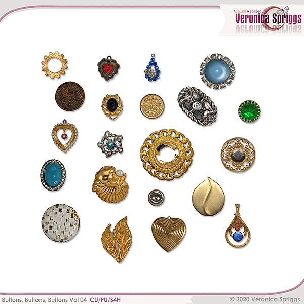 Buttons Buttons Buttons Vol 04