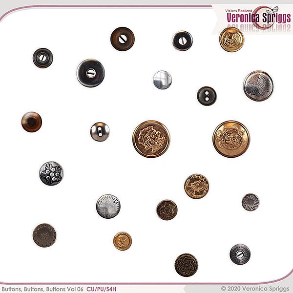 Buttons Buttons Buttons Vol 06