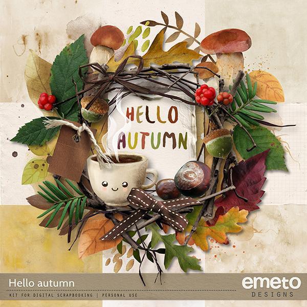 Hello Autumn Kit by emeto designs