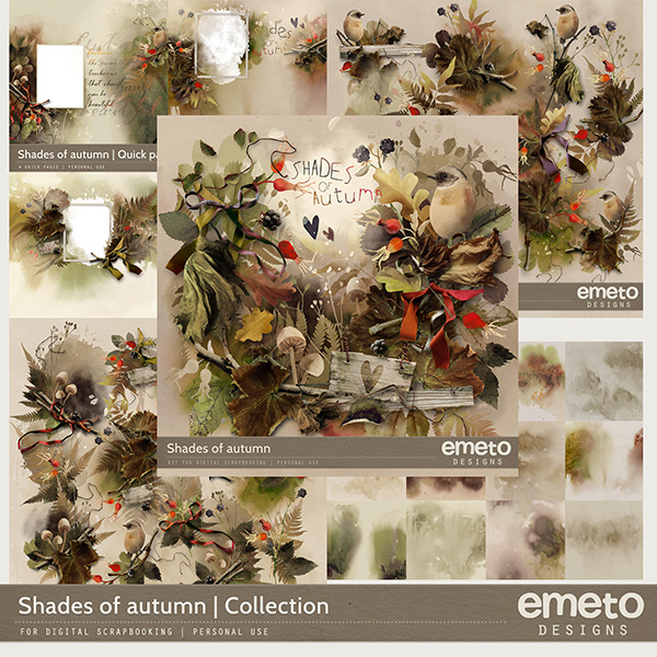 Shades of autumn - Collection