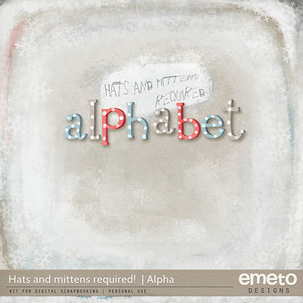 Hats and mittens required! {Alpha}