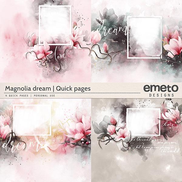 Magnolia dream - Quick pages
