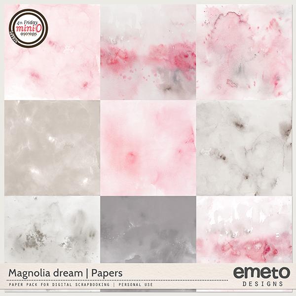 Magnolia dream - papers