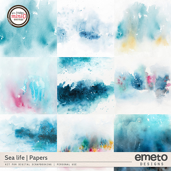 Sea life - papers