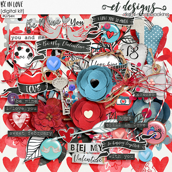Be in Love kit by et designs