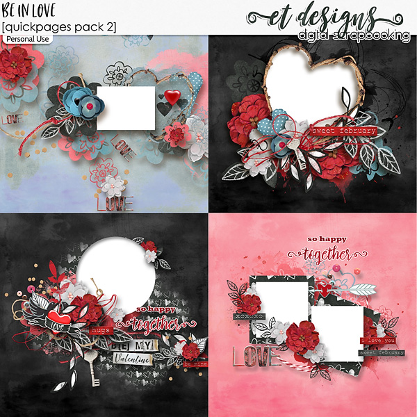 Be in Love Quickpages 2 by et designs