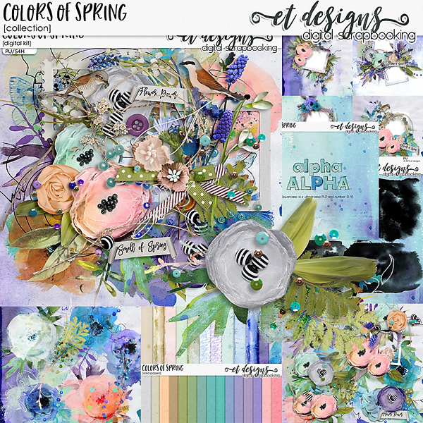 Colors of Spring Collection by et designs