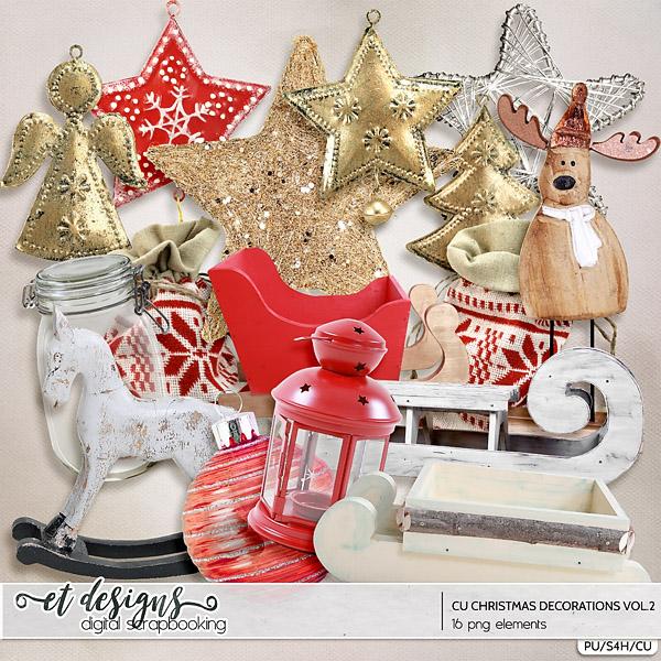 CU Christmas Decorations vol.2
