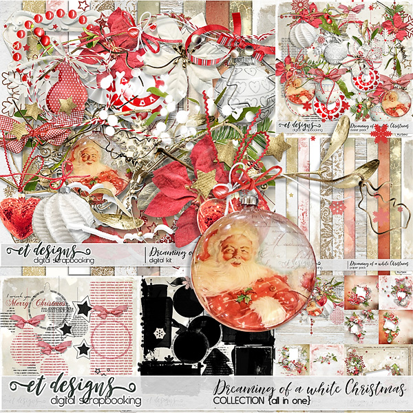 Dreaming of a white Christmas Collection by et designs