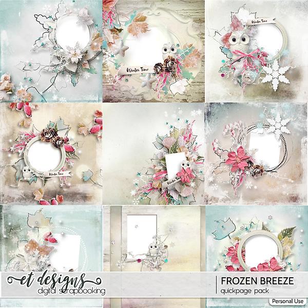 Frozen Breeze Quickpages by et designs