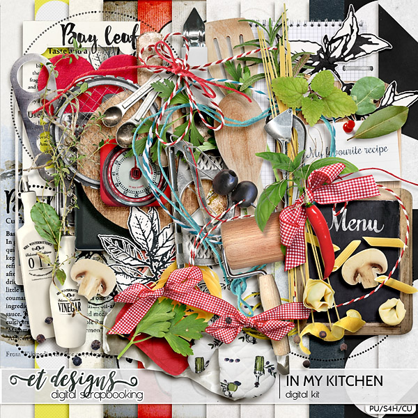 In My Kitchen Kit & Journal Cards