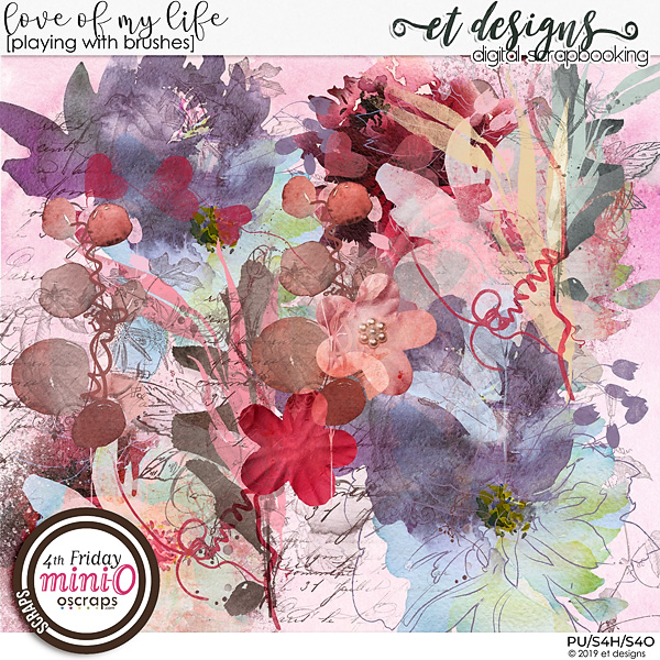 Love of my life Playing with Brushes by et designs