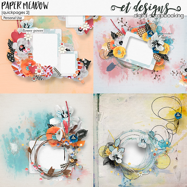 Paper Meadow Quickpages 2