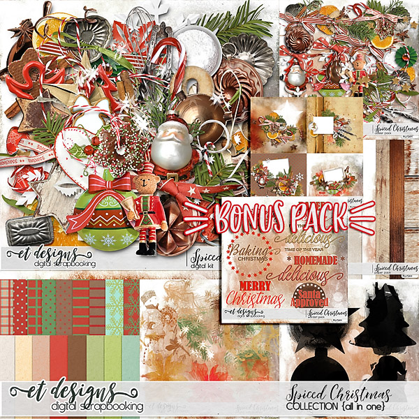 Spiced Christmas Collection by et designs