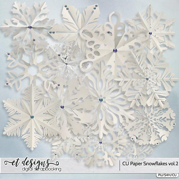 CU Paper Snowflakes vol.2