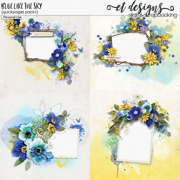 Blue Like The Sky Quickpages 1