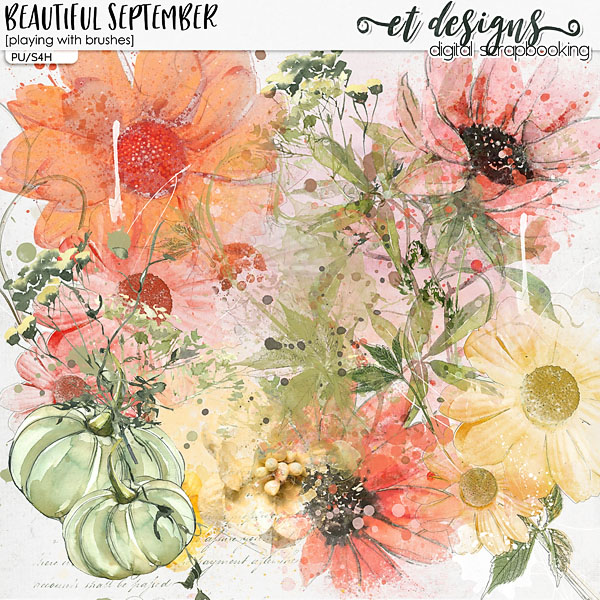 Beautiful September Playing with Brushes