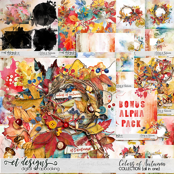 Colors of Autumn Collection & free with purchase bonus