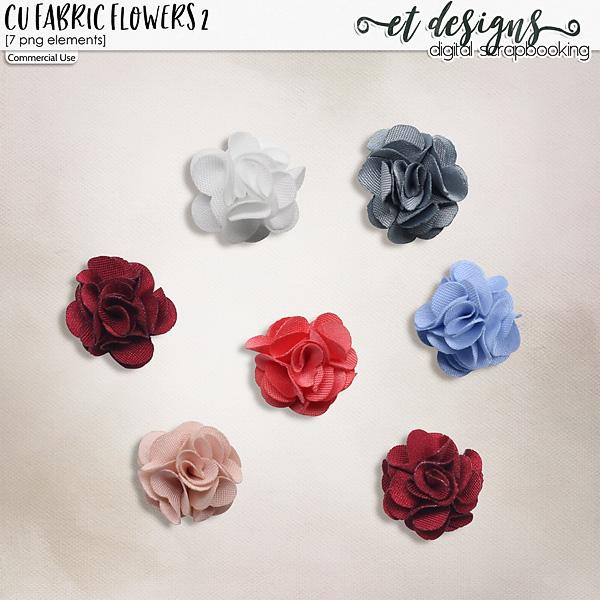 CU Fabric Flowers vol.2