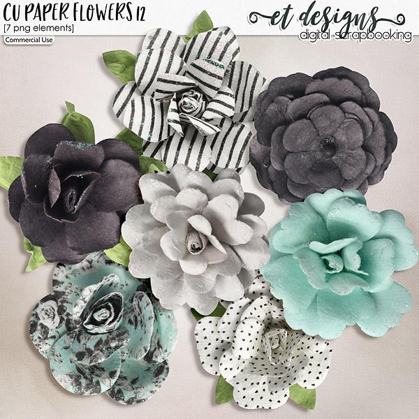 CU Paper Flowers vol.12