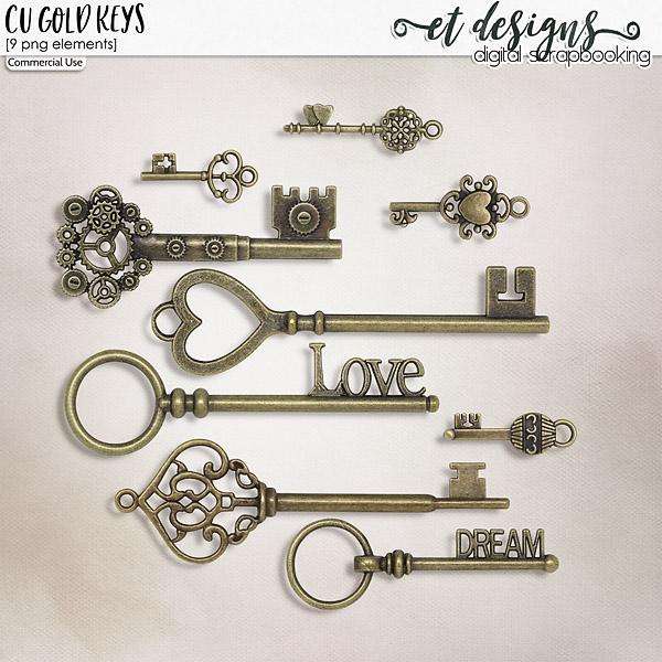 CU Gold Keys