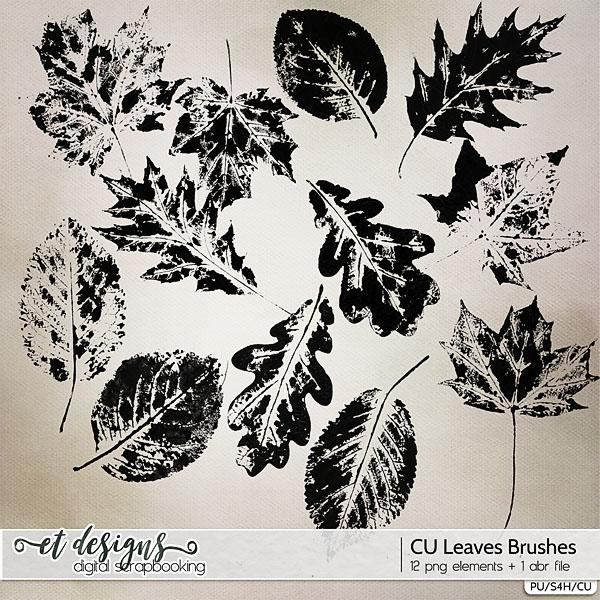 CU Leaves Brushes