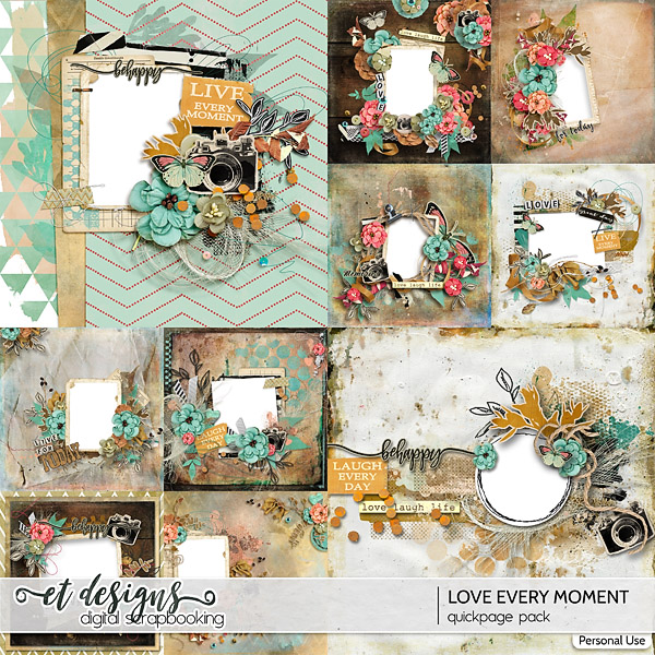Love Every Moment Quickpages