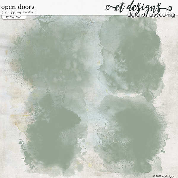 Open Doors Clipping Masks