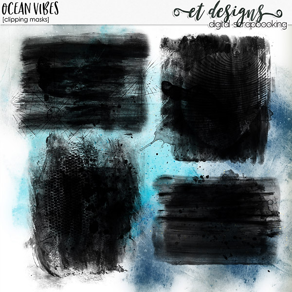 Ocean Vibes Clipping Masks