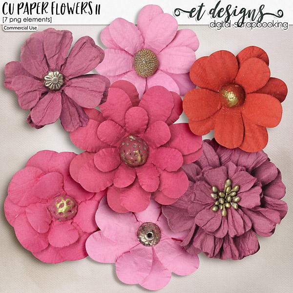 CU Paper Flowers vol.11