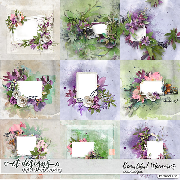 Beautiful Memories Quickpages