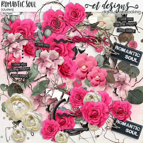 Romantic Soul Clusters by et designs