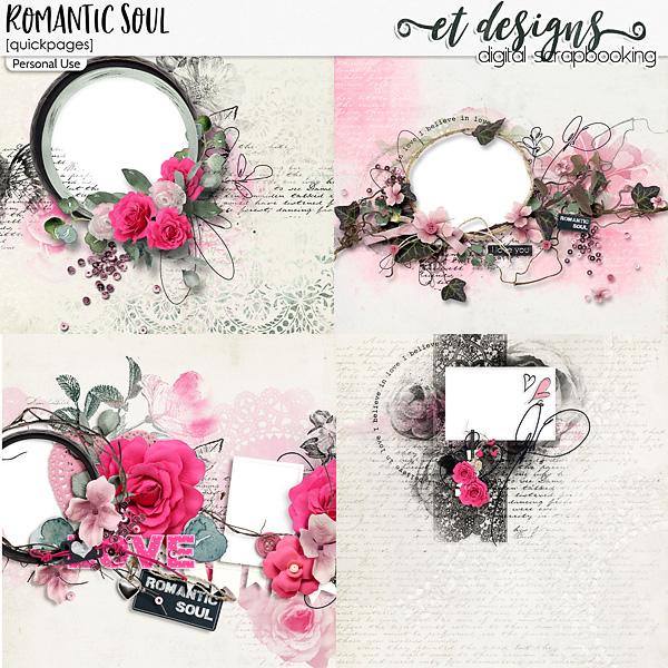 Romantic Soul Quickpages by et designs