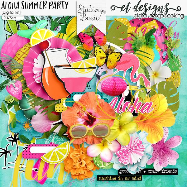 Aloha Summer Party Kit