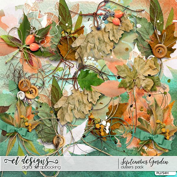 September Garden Clusters