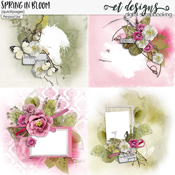 Spring in Bloom Quickpages
