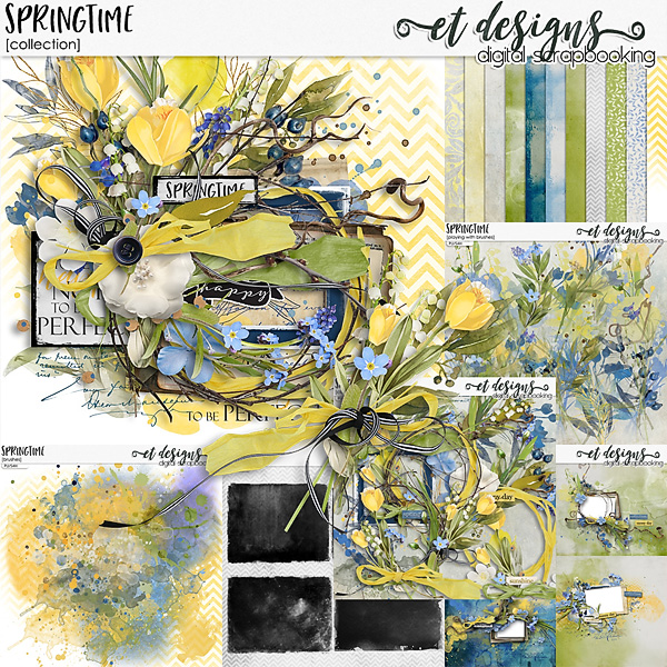 Springtime Collection by et designs