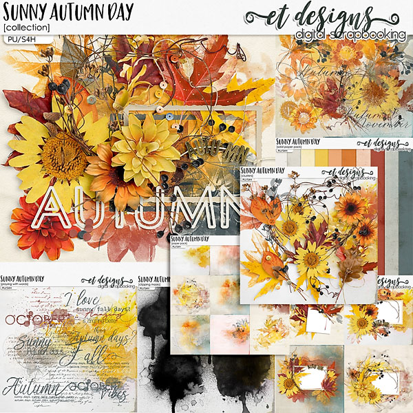 Sunny Autumn Day Collection