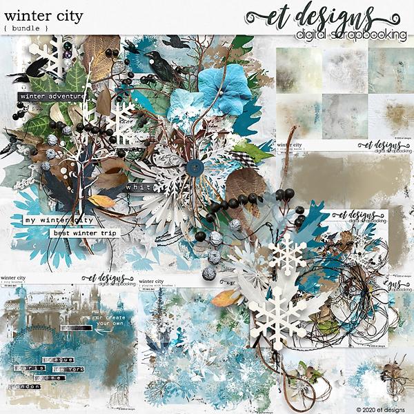 Winter City Bundle by et designs