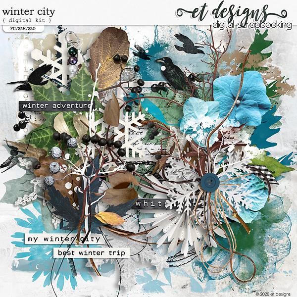 Winter City Kit by et designs