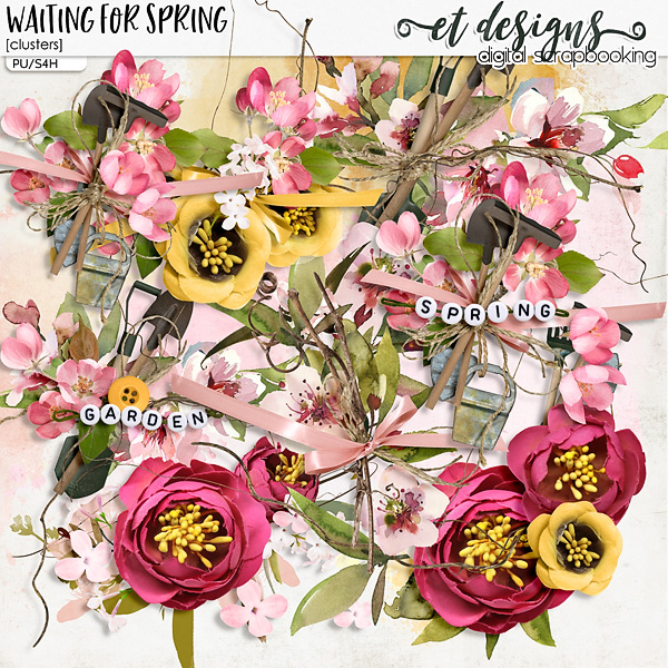 Waiting for Spring Clusters by et designs