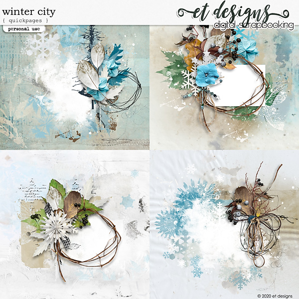 Winter City Quickpages