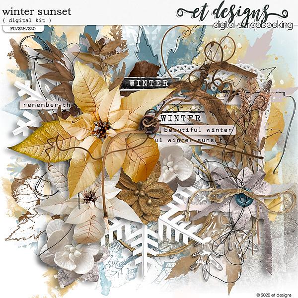 Winter Sunset Kit