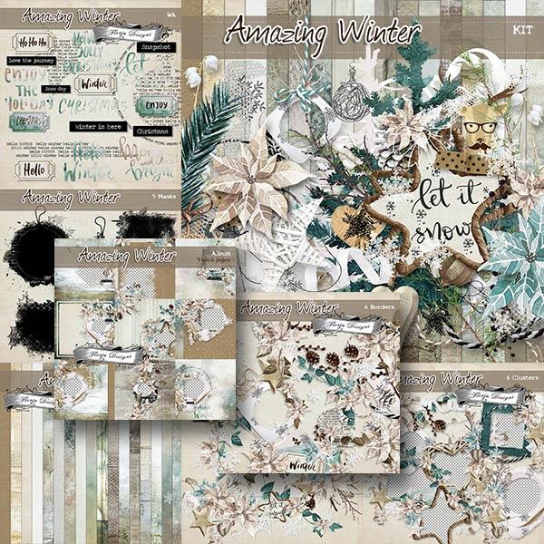 Amazing Winter { Bundle PU } by Florju Designs