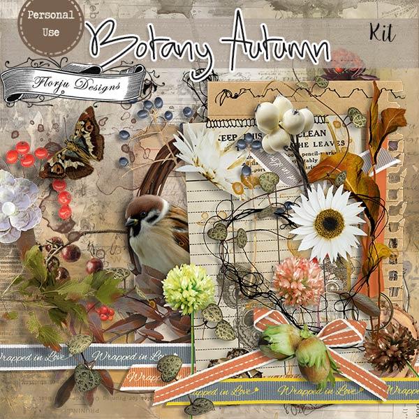 Botany Autumn { Kit PU } by Florju Designs